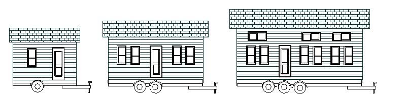 Little House on the Trailer Logo